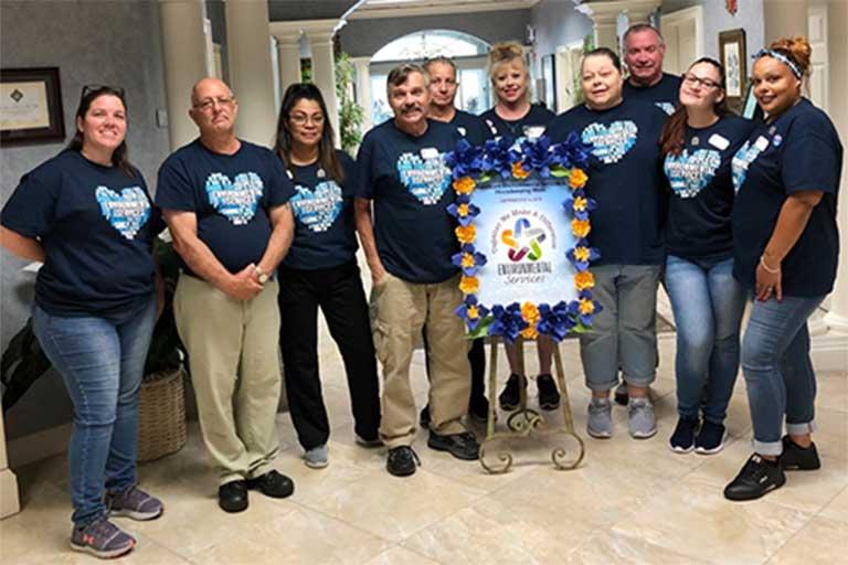 Environmental Services Week brings fun at Life Care Center of Palm Bay